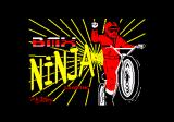 BMX Ninja Amstrad CPC Loading screen