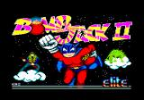 Bomb Jack II Amstrad CPC Loading screen
