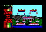 Bomb Jack II Amstrad CPC Starting the first level