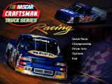 NASCAR Craftsman Truck Series Racing Windows Title Screen
