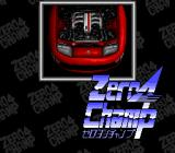 Zero4 Champ TurboGrafx-16 Title screen