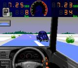 Zero4 Champ II TurboGrafx CD Come on, sure you can go faster than that car!