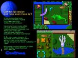 Goofy Golf Deluxe Windows The shareware game promises fifty four holes in the registered version