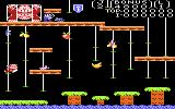 Donkey Kong Junior Atari 7800 Gameplay on the first level