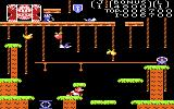 Donkey Kong Junior Atari 7800 Jumping across gaps on the second level