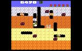 Dig Dug Atari 7800 Shooting an enemy