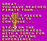 "Hook NES ""Standing on the gunpowder kegs with a torch for an uplifting experience...?"" Hey, Tink, why don't you try this uplifting experience for yourself?!"
