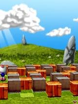 3D Bomberman Atomic J2ME Each level starts with a zoomed in view