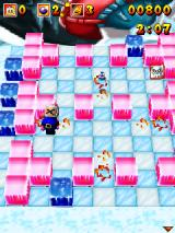 3D Bomberman Atomic J2ME Got hit