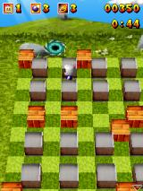 3D Bomberman Atomic J2ME When all enemies are defeated a portal opens up