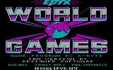 World Games PC Booter Title screen