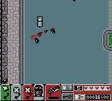 Grand Theft Auto 2 Game Boy Color Burning some people with the flamethrower