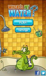 Where's My Water? Android Title screen