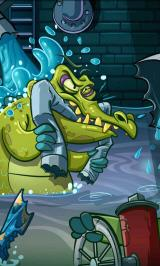 Where's My Water? Android ...There are crocodiles under the city!