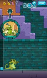 Where's My Water? Android Cranky appears in some levels