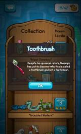 Where's My Water? Android All items in the collection have humorous descriptions
