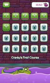 Where's My Water? Android Cranky's level select screen