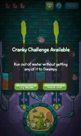 Where's My Water? Android You can trigger Cranky's challenges in Swampy's campaign