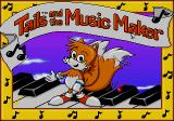 Tails and the Music Maker SEGA Pico Title Screen