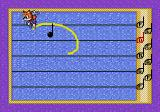 Tails and the Music Maker SEGA Pico Notes bounce down the staff. Draw to circle each note.