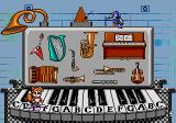 Tails and the Music Maker SEGA Pico Page 4 Menu