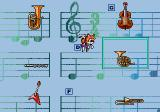 Tails and the Music Maker SEGA Pico Instruments are mixed up and you must replay them in order