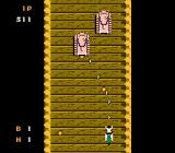 Thundercade NES Bridge of death. Death in the form of pink tanks.