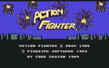 Action Fighter Commodore 64 Title