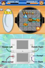 12 Nintendo DS Story Mode where you have a cooking/eating contest.