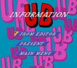 UltraBox 6-gō TurboGrafx CD UB information