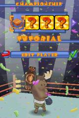 Animal Boxing Nintendo DS Championship Mode