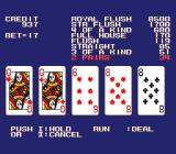 AV Poker TurboGrafx-16 Yes! I won!!..