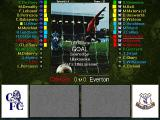 Football Masters 99 DOS Goal Screen View