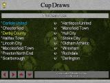 Football Masters 99 DOS Cup Draws