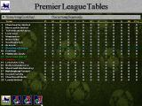 Football Masters 99 DOS Premier League Tables