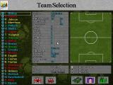 Football Masters 99 DOS Team Selection