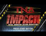 TNA iMPACT! PlayStation 2 Title screen.