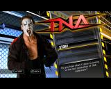 TNA iMPACT! PlayStation 2 Menu screen.