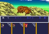 Monster Maker: Yami no Ryū Kishi     TurboGrafx CD Boss battle against a big dragon