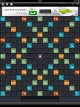 Wordfeud iPad Empty playing board
