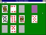 The Ultimate Solitaire Collection Windows 3.x Four Seasons Solitaire