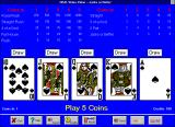 Real Video Poker Windows 3.x Jacks Or Better (Version 5.0) Mode 2 (large)