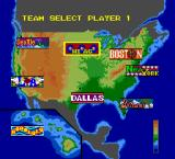 Takin' It to the Hoop TurboGrafx-16 Pick a team