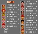 Takin' It to the Hoop TurboGrafx-16 Select your players for the match