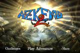 Azkend 2: The World Beneath iPhone Main menu