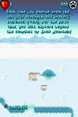 Arctic Tale Nintendo DS The game gives you an explanation of how things work in the frozen north.