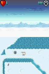 Arctic Tale Nintendo DS Collecting paw prints will help your polar bear grow stronger.