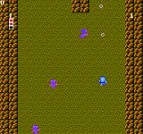 Ginga Denshō: Galaxy Odyssey  NES Trying to shoot at some enemies