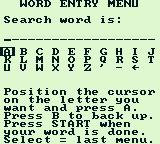 King James Bible For Use On Game Boy Game Boy Enter a word to search.
