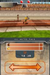 Asterix at the Olympic Games Nintendo DS 100 Metre Race